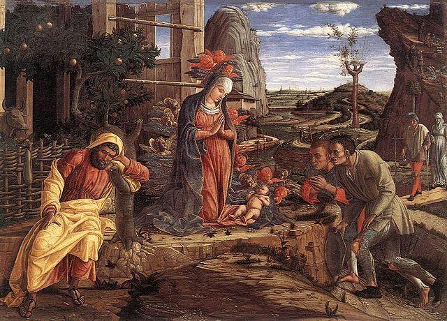 Andrea Mantegna y la perspectiva renacentista