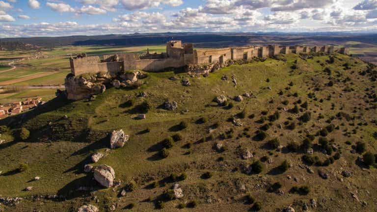 Visitamos el espectacular castillo de Gormaz