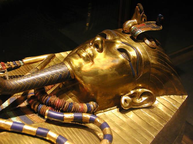 Ataúd de Tutankamón