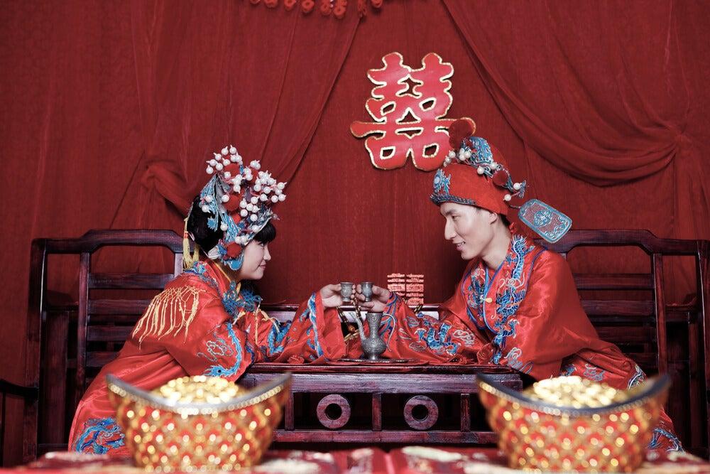 Boda tradicional china