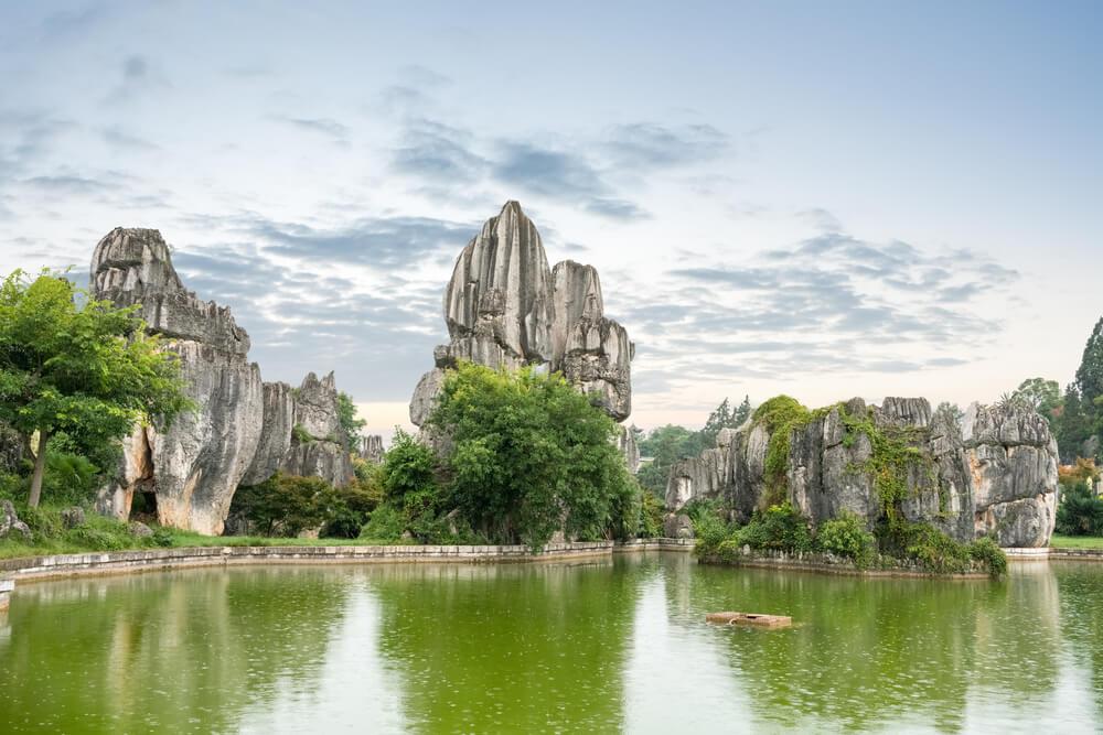 Bosque de Piedra de Yunnan