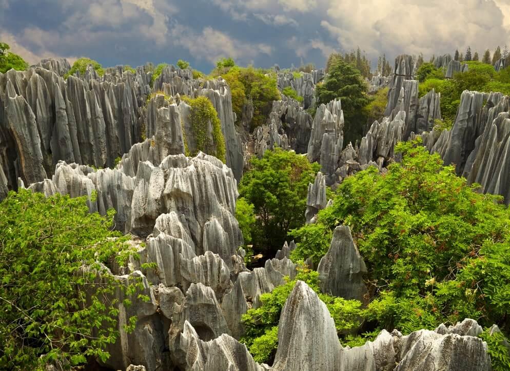 Bosque de piedra de Lunan