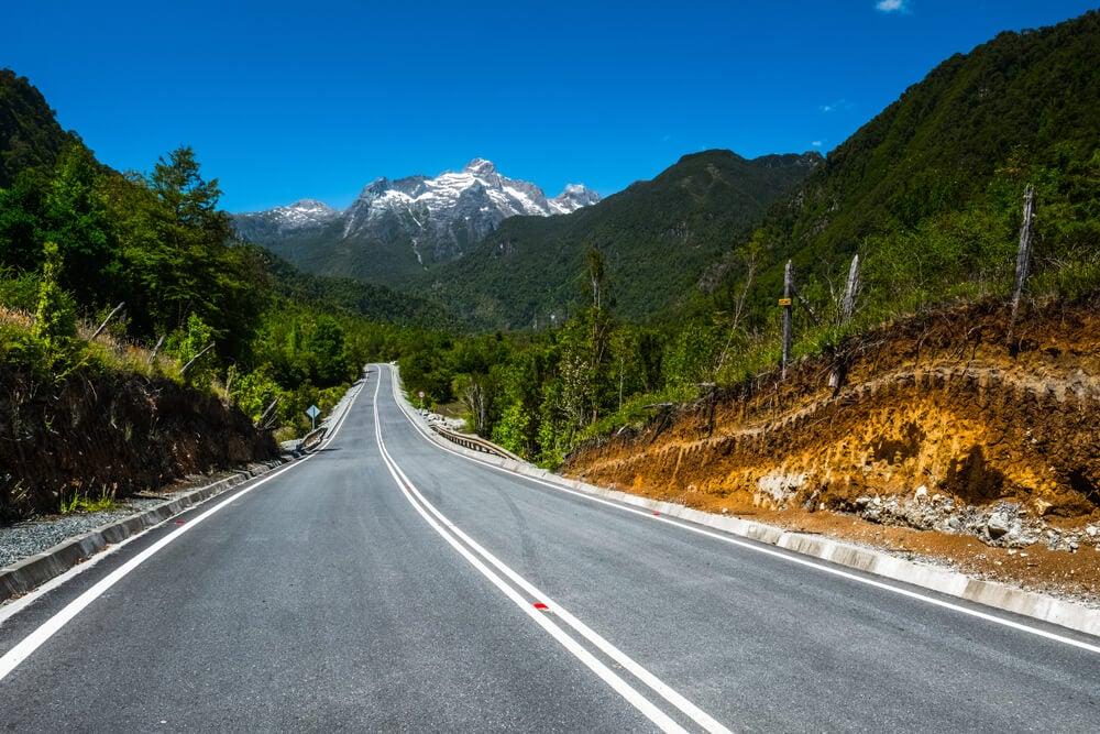 Carretera Austral cerca de Hornopirén