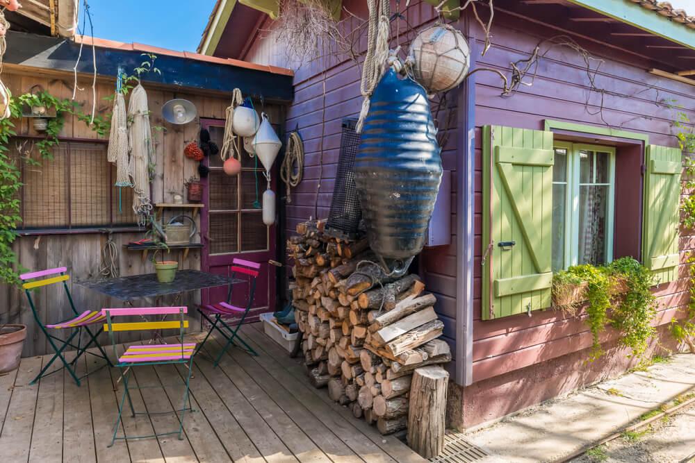 Casa de pescadores en Lège-Cap-Ferret