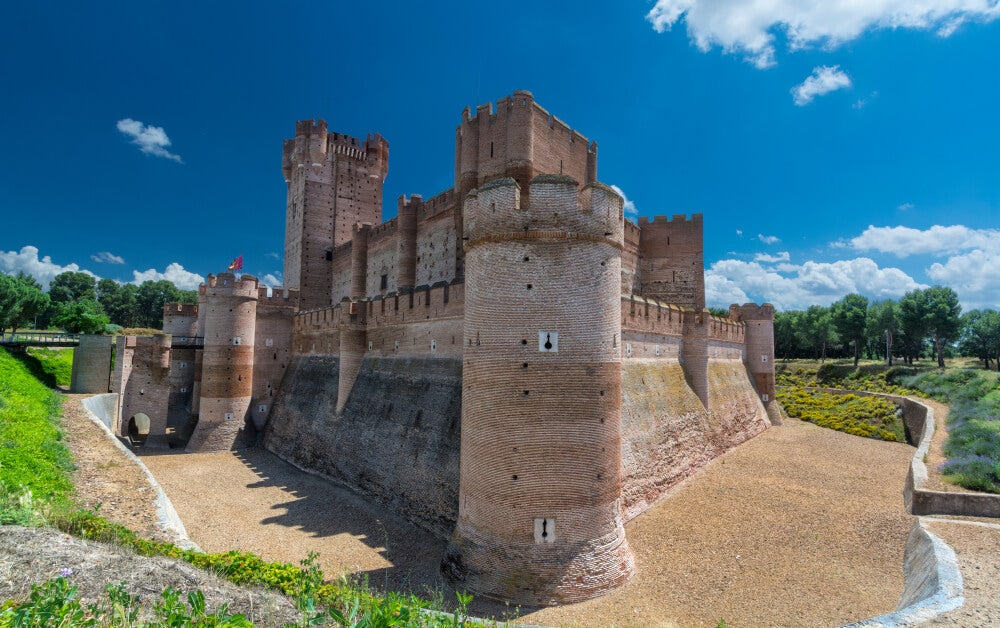 Castillo de la Mota, lugar de encierro de Juana la Loca