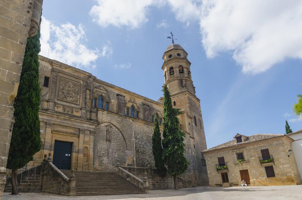 Catedral de Baeza, obra de Andrés de Vandelvira
