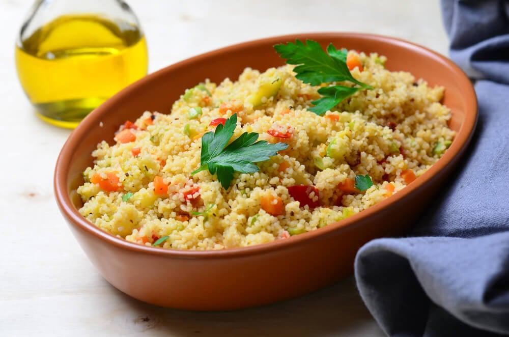 Cuscús, plato de la cocina marroquí