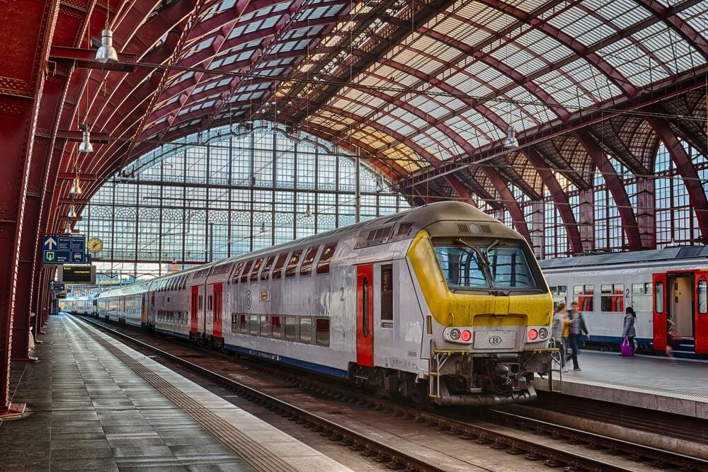 La red ferroviaria de Bélgica, la más densa de Europa