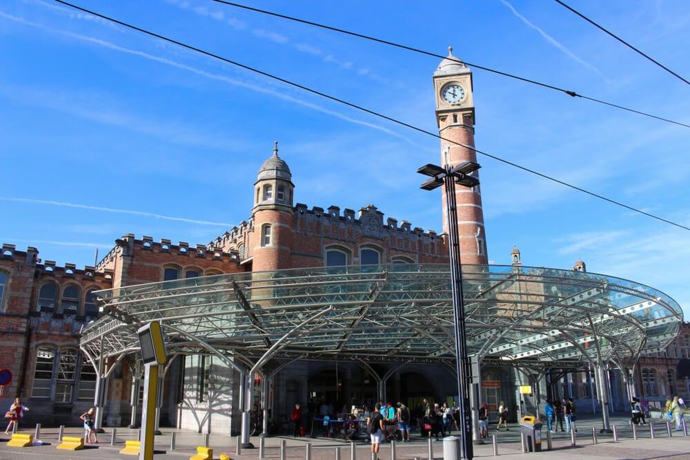Estación de tren de Gante