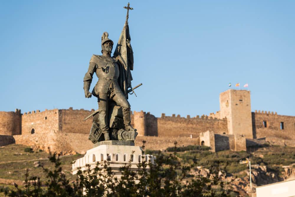 Estatua de Hernán Cortés