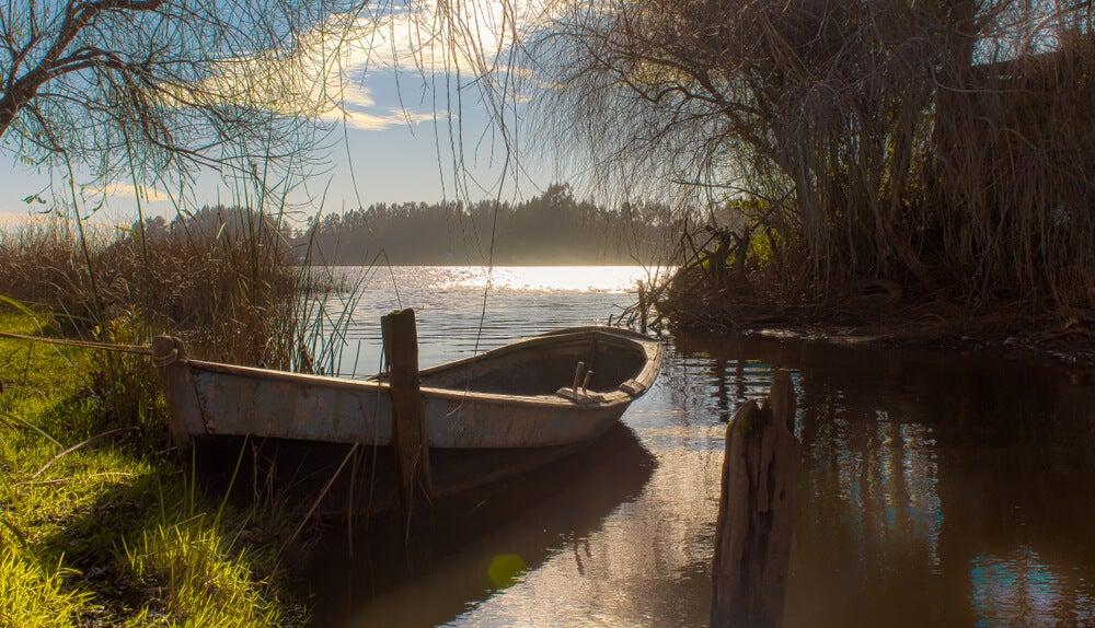 Lago Budi en Chile