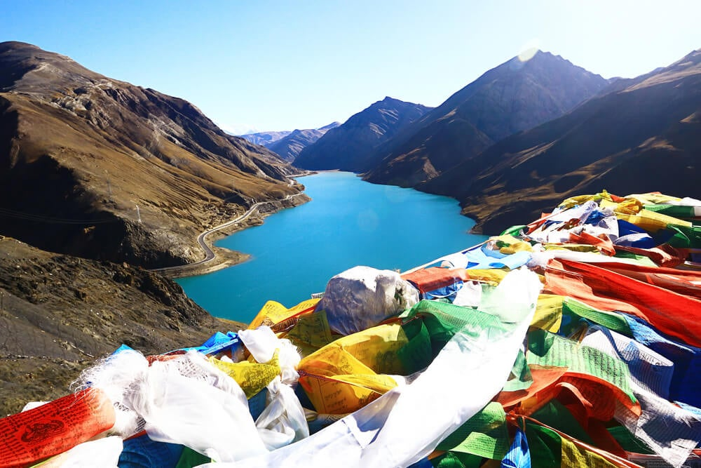 Lago Namtso, uno de los espacios naturales de China