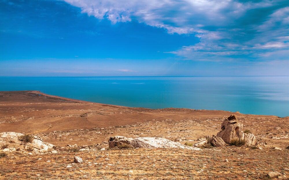 El mar Caspio, el lago más grande del mundo