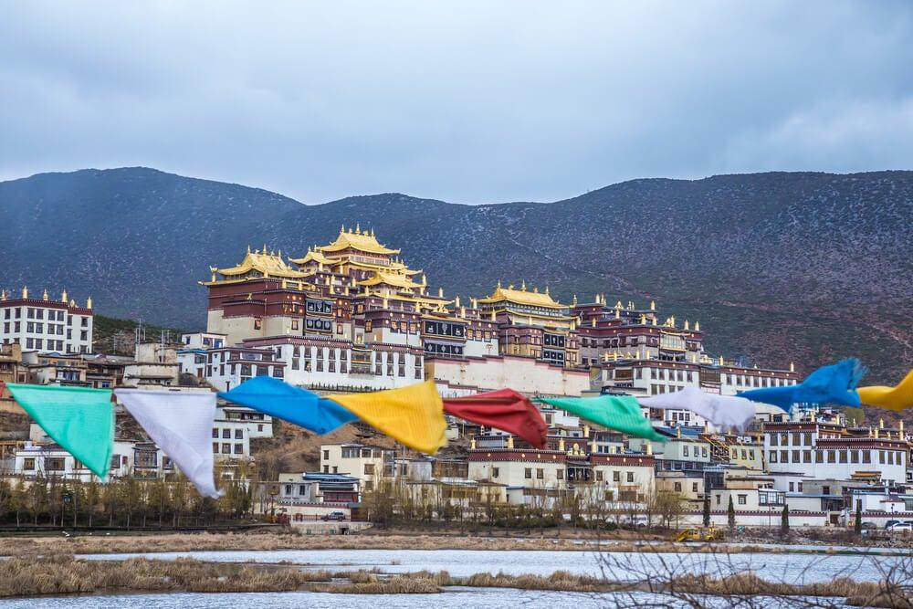 Monasterio Gandan Sumtseling en Shangri-La
