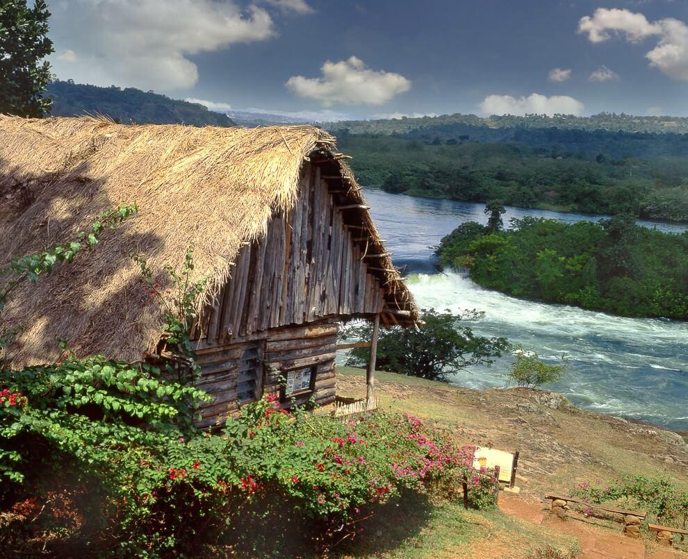 Nilo Blanco en Uganda