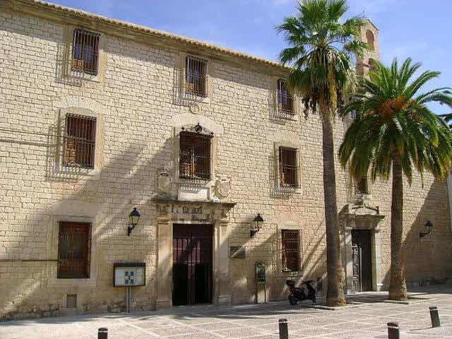 Visitamos el Palacio de Villardompardo de Jaén