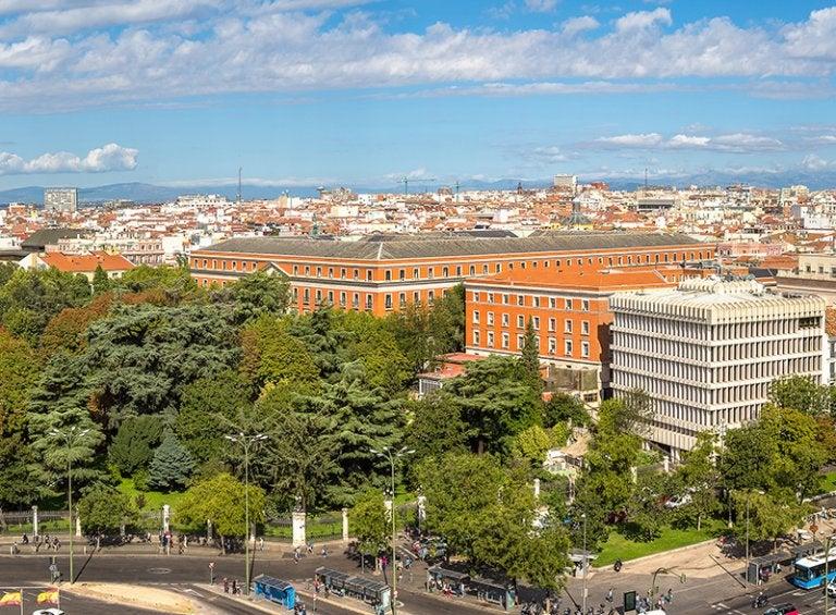 Visitamos el palacio de Buenavista de Madrid