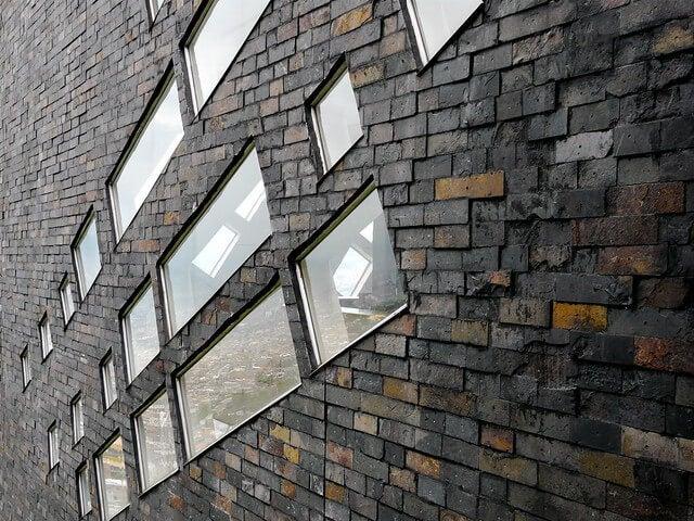 Paneles de la fachada