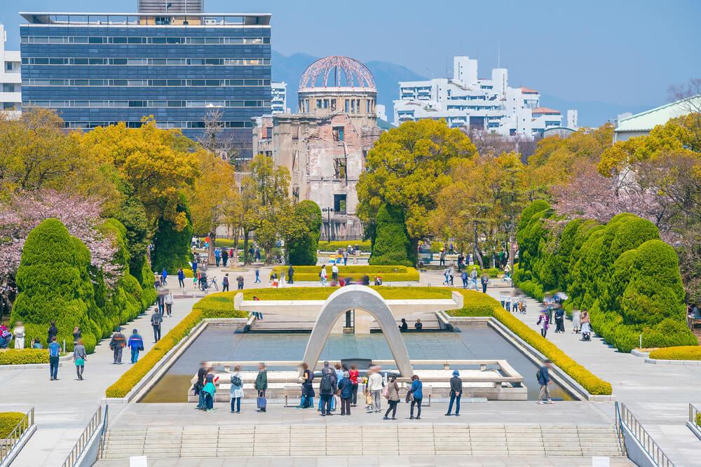 Vista del Parque Memorial de la Paz
