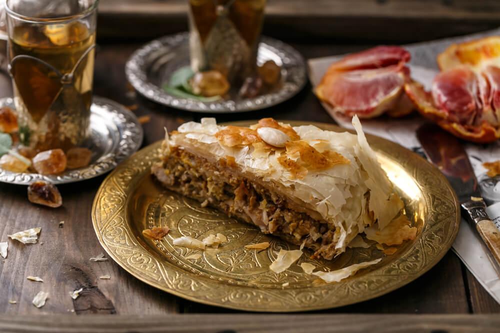 Pastilla típica de Marruecos