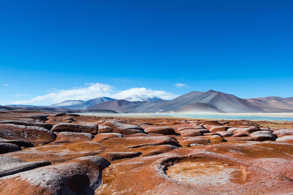Piedras Rojas en el desierto de Atacama