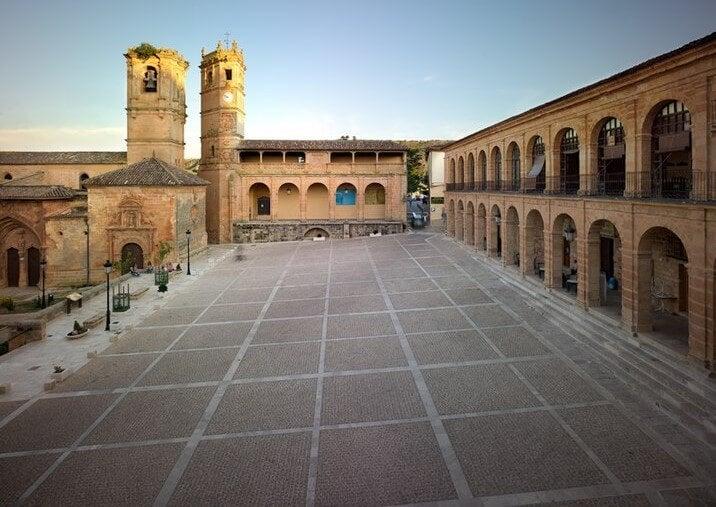 Plaza Mayor de ALcaraz, de Andrés de Vandelvira