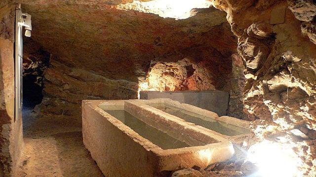 Interior de Puig de Molins