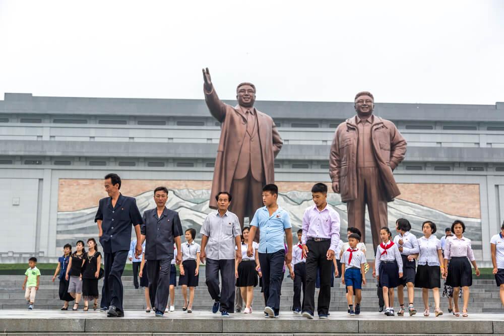 Genet en Pyongyang en Corea del Norte