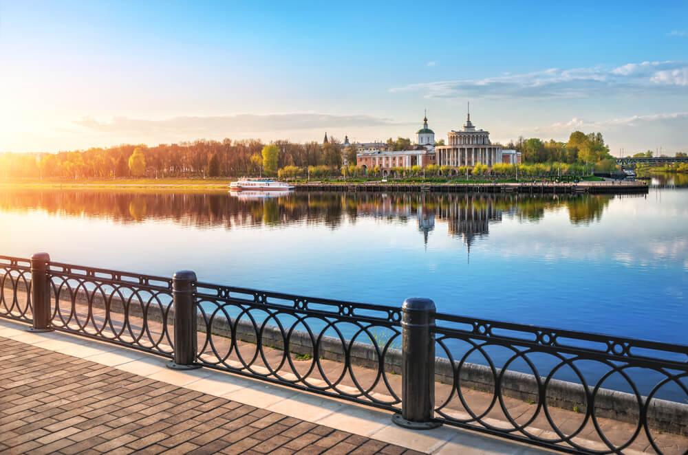 Río Volga en Tver