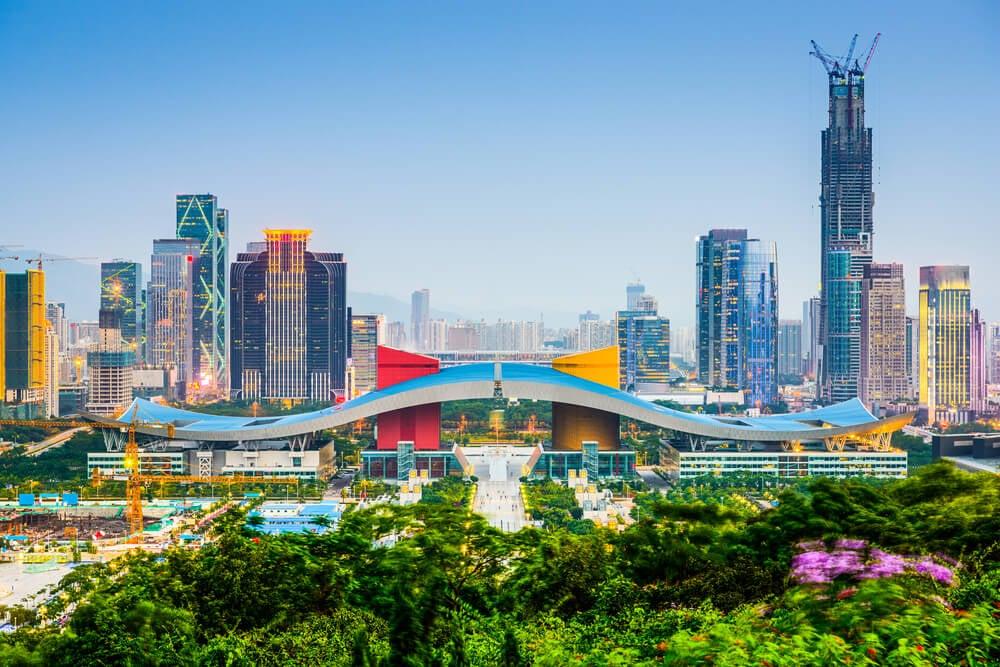 Vista de Shenzhen