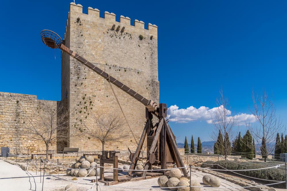 Torre de la fortaleza de la Mota