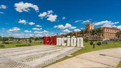Palacio presidencial en Asunción
