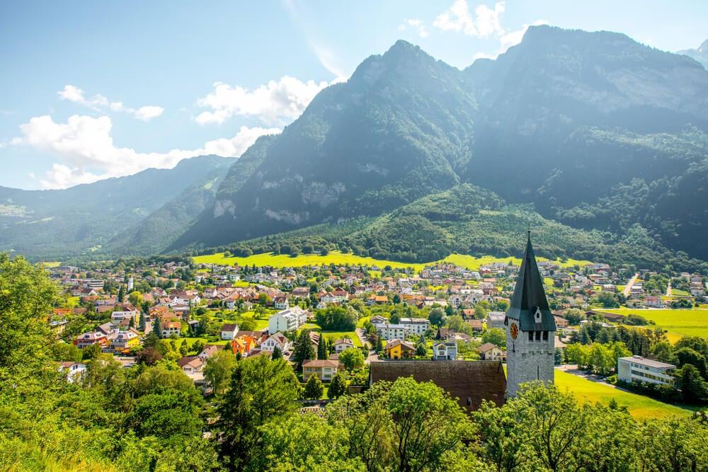 Balzers en Liechtenstein