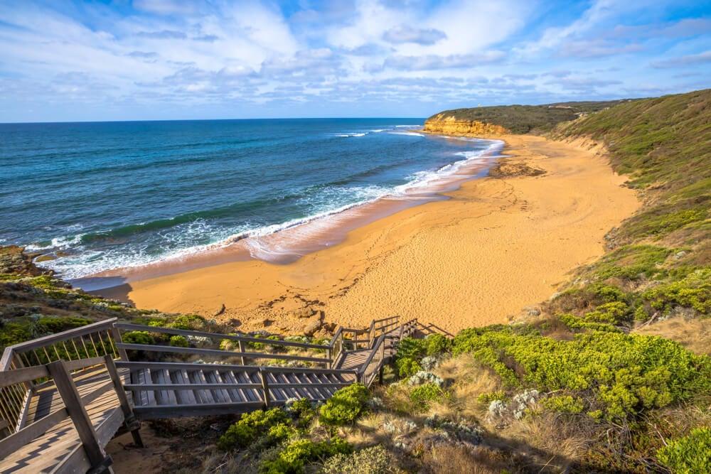Bells Beach en la Great Ocean Road