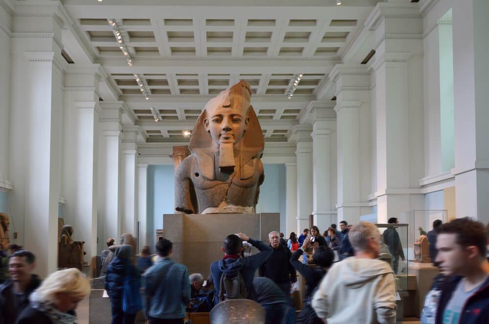 Entrada al British Museum