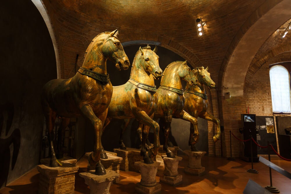 Caballos de la basílica de San Marcos, un botín de guerra