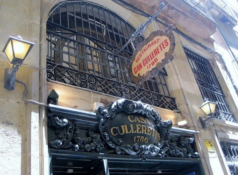 Can Culleretes, uno de los restaurantes con historia