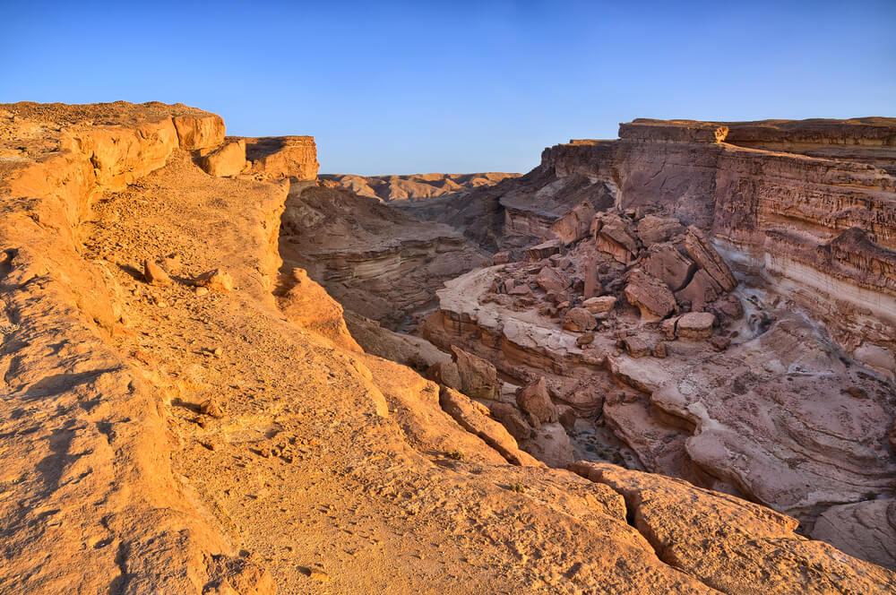 Cañón de Tamerza en Túnez