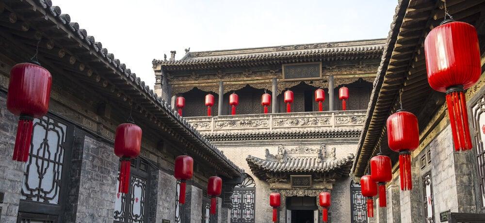 Casa de la familia Quiao en Pingyiao