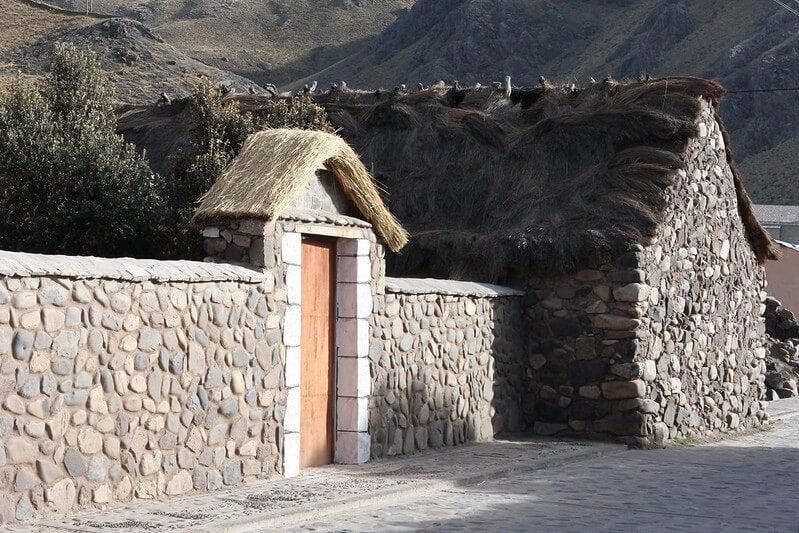 Casa típica de Sibayo