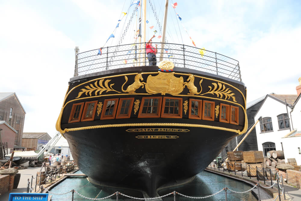 Casco de SS Great Britain