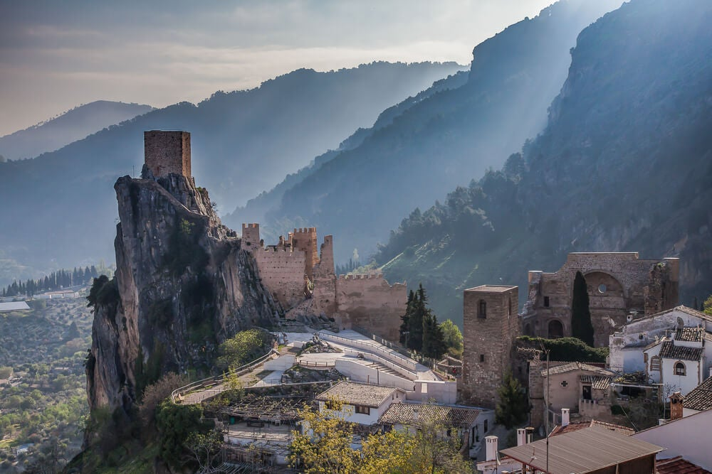 El castillo de La Iruela, un vigía eterno en Jaén