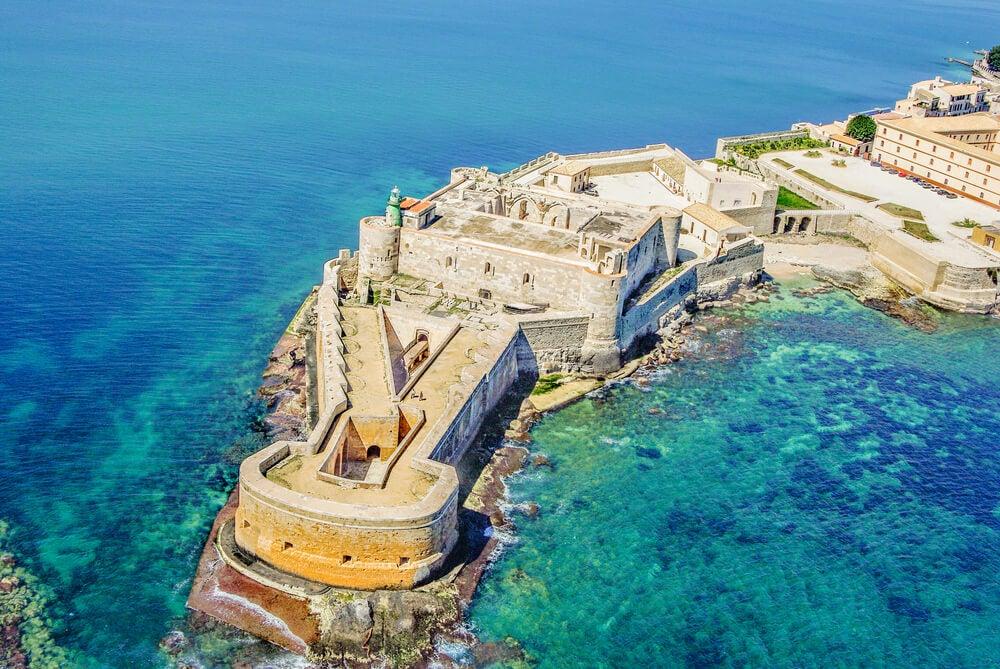 Castillo de Maniace, uno de los castillos de Sicilia más bellos