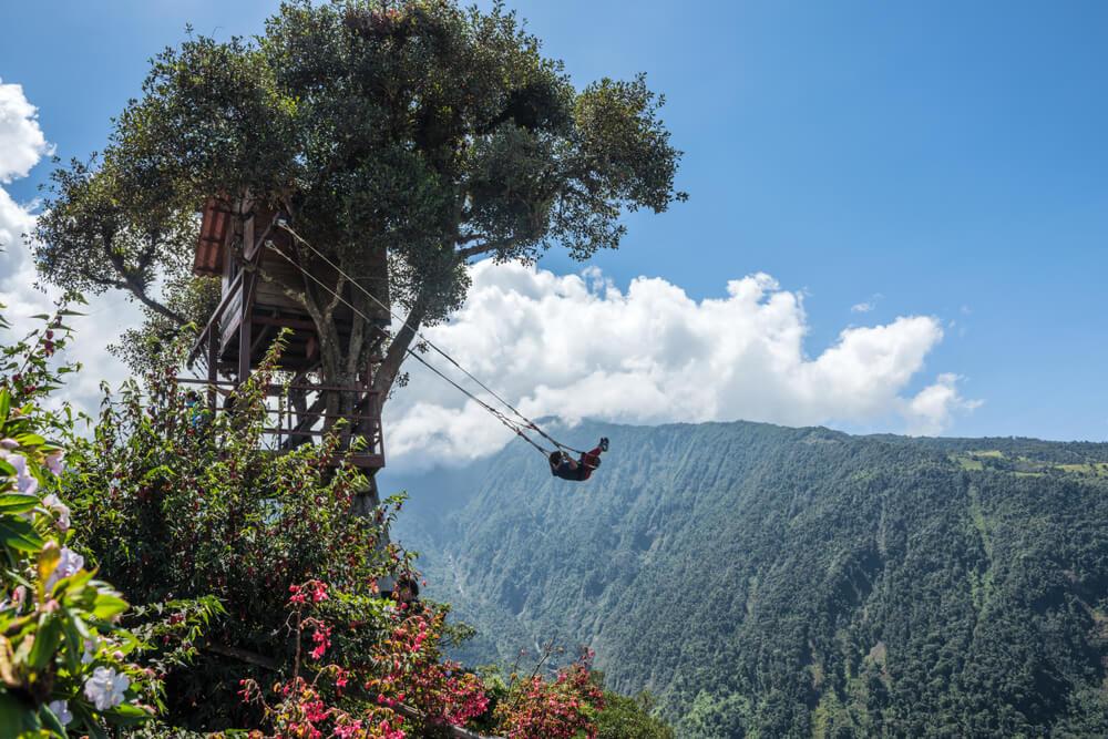 Columpio del fin del mundo en Ecuador: un sitio fantástico