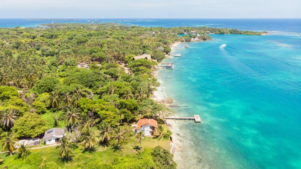 Costa de las islas Rosario