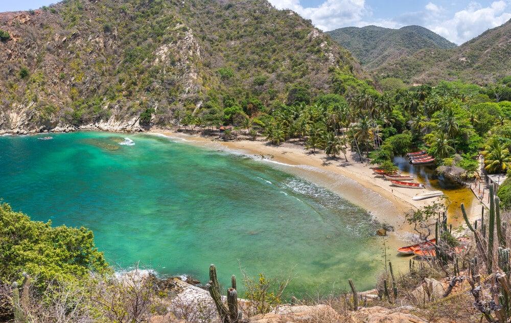 Ensenada Tuja, una de las playas secretas de Sudamérica