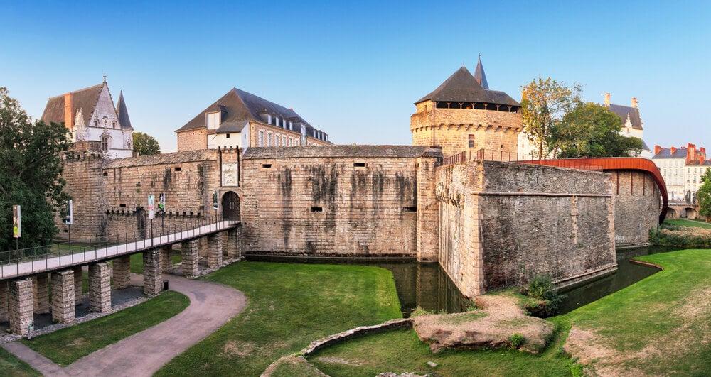 Exterior del castillo de Nantes
