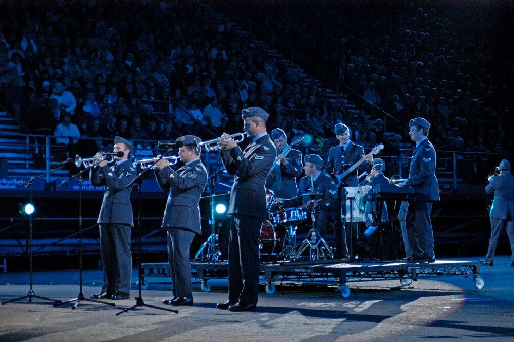 Actuación en uno de los festivales de Edimburgo