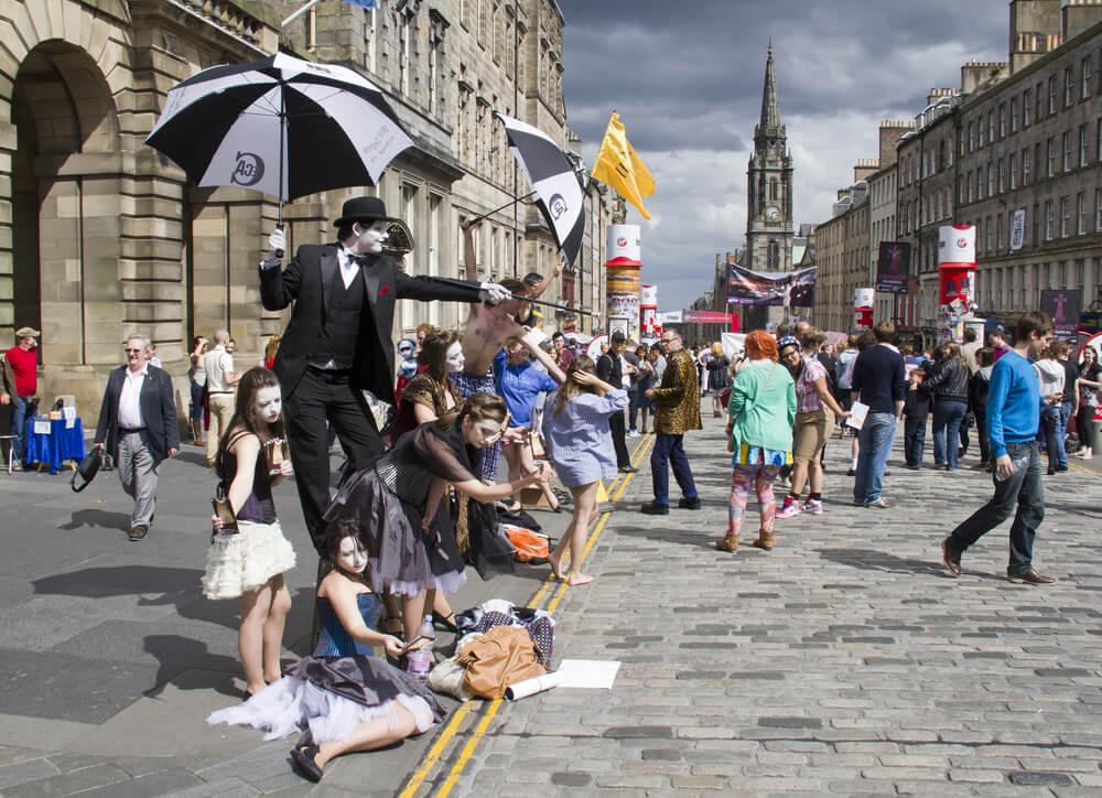 Festival de teatro de Edimburgo