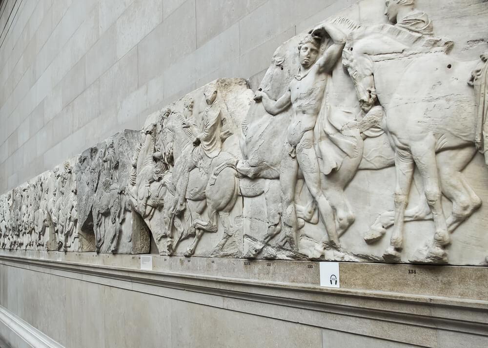 Frisos del Partenón en el British Museum